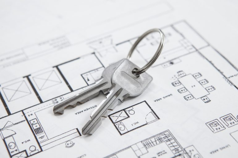 Key and floor plans