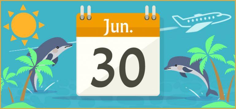6 月 30 日 何 の 日