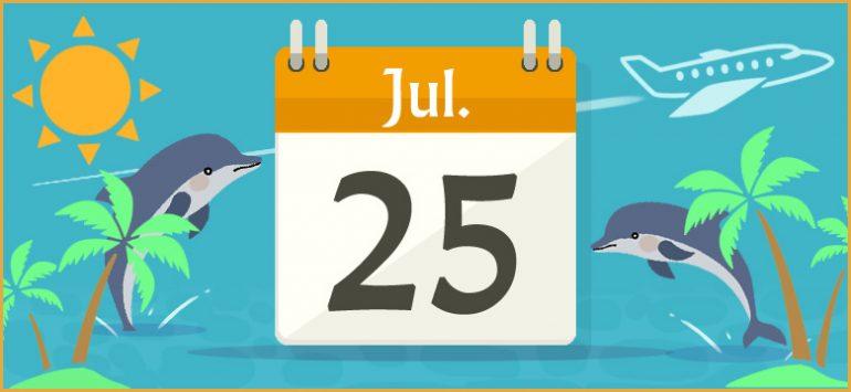 7月25日生まれの性格と相性、運...
