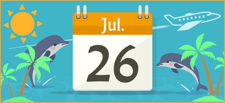 7月26日生まれの性格と相性、運...