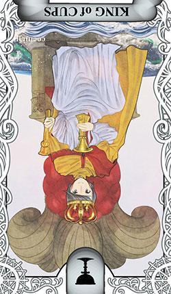 カップのキングの逆位置