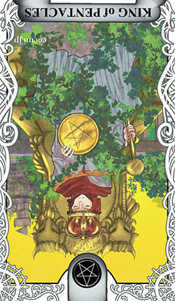 コインのキングの逆位置